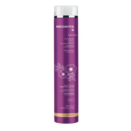 Оцветяващ шампоан  Luxviva Post Color 250мл pH 5.5 - BEIGE BLOND